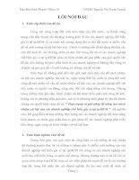 TIỂU LUẬN ĐẠO ĐỨC KINH DOANH(5)