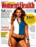 Khỏe để tận hưởng Women's Health