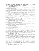 KỸ THUẬT TẠM THỜI VỀ GIEO ƯƠM, TRỒNG, CHĂM SÓC VÀ BẢO VỆ CÂY XANH, RỪNG PHÒNG HỘ MÔI TRƯỜNG