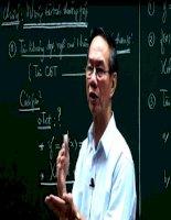 35 đề luyện thi đại học môn toán có lời giải