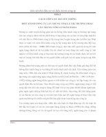 CÁCH TIẾP CẬN TRUYỀN THỐNG ĐIỀU HÀNH CÔNG TY LẤY TRUNG TÂM LÀ THỊ TRƯỜNG HOẶC LẤY TRUNG TÂM LÀ NGÂN HÀNGCÁCH TIẾP CẬN TRUYỀN THỐNG ĐIỀU HÀNH CÔNG TY LẤY TRUNG TÂM LÀ THỊ TRƯỜNG HOẶC LẤY TRUNG TÂM LÀ NGÂN HÀNG