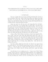 MỘT SỐ BIỆN PHÁP NÂNG CAO HIỆU QUẢ CÔNG TÁC ĐÀO TẠO VÀ PHÁT TRIỂN NGUỒN NHÂN LỰC Ở XÍ NGHIỆP MAY DA – CÔNG TY MAY CHIẾN THẮNG