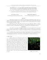Nghiên cứu và xác định thành phần hóa học của lá dứa thơm ở huyện Đại Lộc- Quang Nam