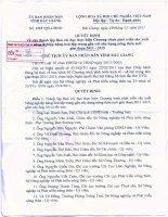 Quyết định Số 1757/QĐ-UBND