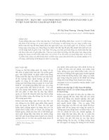Thành tựu - hạn chế - giải pháp phát triển kiểm toán độc lập, ở việt nam trong giai đoạn hiện nay