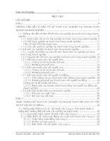 Kế toán các nghiệp vụ thanh toán tại Công ty Vật tư kỹ thuật xi măng (ko lý luận)