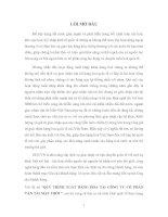 QUY TRÌNH XUẤT HÀNG HÓA TẠI CÔNG TY CỔ PHẦN VẬN TẢI MẶT TRỜI
