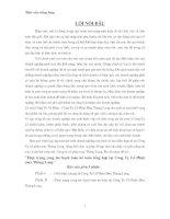 72 Thực trạng công tác hạch toán Kế toán tổng hợp tại Công ty cổ phần may Thăng Long(154 tr)