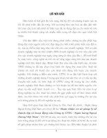 137 Hoàn thiện cơ sở pháp lý về thành lập & hoạt động của Công ty cho thuê Tài chính - Ngân hàng Ngoại thương Việt Nam