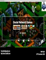 Social Network Games
