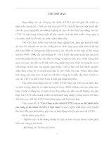Các Công ty tài chính (CTTC) và sự ra đời phát triển các Công ty tài chính (CTTC) ở Việt Nam