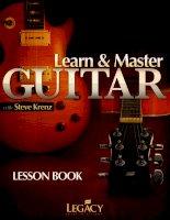 Giáo trình - learn master guitar vietnamese