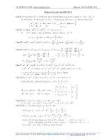 Lời giải 35 đề luyện thi đại học môn toán
