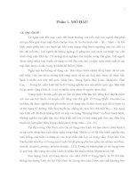 KHÓA LUẬN TỐT NGHIỆP: KHẢO SÁT SINH TRƯỞNG NẤM LINH CHI ĐEN (Amauroderma subresinosum, Corner) PHÁT HIỆN TẠI  VÙNG NÚI CHỨA CHAN - VIỆT NAM (Phần Chính)