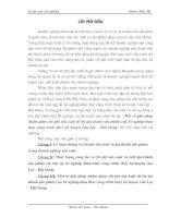 38 Một số biện pháp tiết kiệm chi phí và hạ giá thành sản phẩm tại xí nghiệp khai thác ctrình thuỷ lợi H. Gia Lộc - Hải Dương