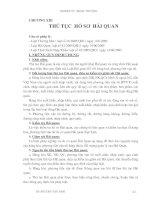 Giáo trình Kỹ thuật nghiệp vụ ngoại thương - Chương 13