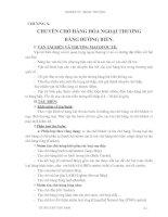 Giáo trình Kỹ thuật nghiệp vụ ngoại thương - Chương 10