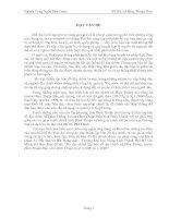 """Đo đạc thành lập bản đồ địa chính xã Hàm Thắng, huyện Hàm Thuận Bắc, tỉnh Bình Thuận tỷ lệ 1:1000 và 1:2000""""."""