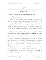 112 Kế toán tập hợp chi phí sản xuất và tính giá thành sản phẩm ở Công ty Công Nghệ Thanh Hải