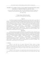 Nghiên cứu triết tách và xác định thành phần hóa học tinh dầu củ riềng ở Hội An, Quảng Nam
