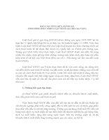 BÁO CÁO TỔNG KẾT, ĐÁNH GIÁ TÌNH HÌNH THỰC HIỆN LUẬT THUẾ GIÁ TRỊ GIA TĂNG