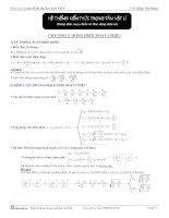 Dòng điện xoay chiều và dao động điện tử