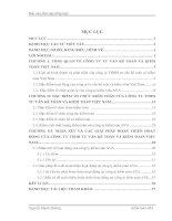 108 Báo cáo thực tập tại Công ty TNHH tư vấn kế toán và kiểm toán Việt Nam AVA