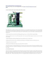 Phương pháp hồi dầu trong hệ thống lạnhx