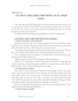 Giáo trình Kỹ thuật nghiệp vụ ngoại thương - Chương 6