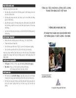 Thông báo khóa đào tạo- Kĩ năng thực hành cho cán bộ điều phối hệ thống quản lí chất lượng -ISO 9000