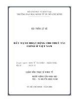 173 Đẩy mạnh hoạt động cho thuê tài chính ở Việt Nam
