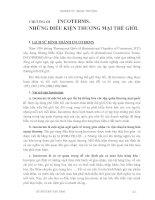 Giáo trình Kỹ thuật nghiệp vụ ngoại thương - Chương 3