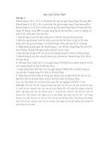 Bài tập tổng hợp kế toán ngân hàng