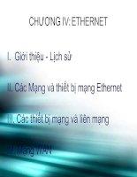 Mạng và các thiết bị mạng Ethernet