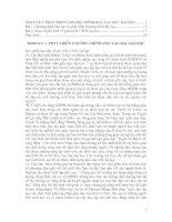 Module 3: Phát Triển Chương Trình Đào Tạo Bậc Đại Học