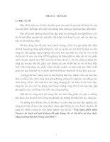 ỨNG DỤNG PHẦN MỀM PRONET VÀO BÌNH SAI LƯỚI KHỐNG CHẾ MẶT BẰNG; ĐO VẼ CHI TIẾT CÁC KHU CHỨC NĂNG TRƯỜNG ĐẠI HỌC NÔNG LÂM HUẾ