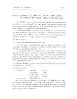 Nghiên cứu iii  về thành phần dịch trích bã bột cây thông