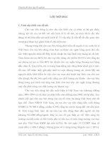 CƠ SƠ LÝ LUẬN VỀ CHO VAY TIÊU DÙNG