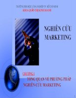 Nghiên Cứu Marketing - Tổng Quan Về Phương Pháp Nghiên Cứu