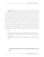 Bài tập về luật thương mại