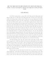 MỘT SỐ VẤN ĐỀ CƠ BẢN VỀ THUẾ GIÁ TRỊ GIA TĂNG  VÀ SỰ VẬN DỤNG THUẾ GIÁ TRỊ GIA TĂNG Ở VIỆT NAM