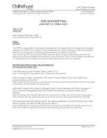 Job description_Bản mô tả công việc
