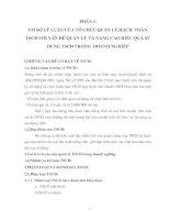 134 Phương hướng hoàn thiện tổ chức công tác Kế toán tài sản cố định tại Xí nghiệp than Đồng Vông