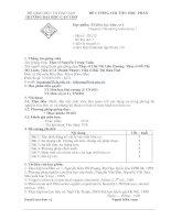 TT. Hóa học hữu cơ 1