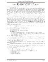 Lý thuyết và bài tập hóa học 11 cơ bản và nâng cao