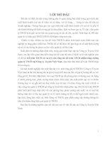 228 Kế toán tài sản cố định & vai trò của công tác Kế toán tài sản cố định nhằm tăng cường quản lý tài sản cố định tại Công ty Toyota Việt Nam