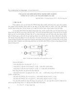 ứng dụng bộ biến đổi pwm trong điều khiển, công suất giữa các nguồn điện cục bộ