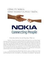 Bài thuyết trình về công ty NOKIA