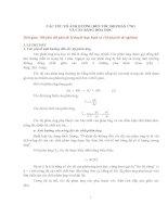 Các yếu tố ảnh hưởng đến tốc độ phản ứng và cân bằng hóa học