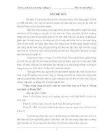 69 Thực trạng công tác hạch toán Kế toán tổng hợp tại Công ty TNHH Vinh Phát (134tr)